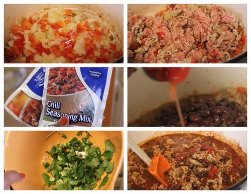 Crumbs & Creativity | Chicken & Black Bean Chili
