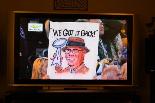 "Vince Lombadi ""We Got it Back!"""