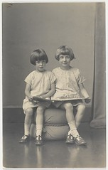 Author Elizabeth Jolley and (younger) sister M...