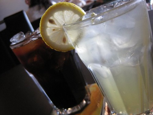 Charcoal Grill - free drinks