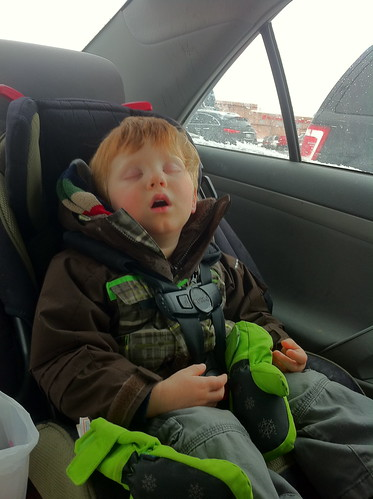 Napping in the car