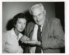 (left to right): Mary Douglas Nicol Leakey (19...