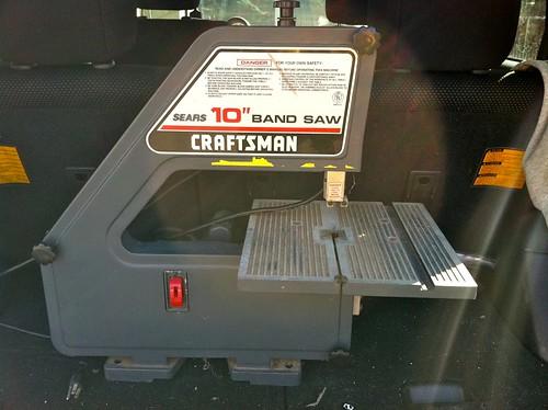"""Craftsman 10"""" benchtop band saw"""