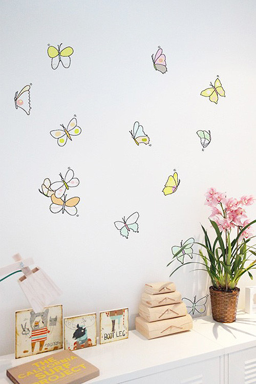 Butterfly Graphics From Blik