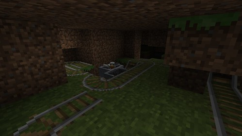 Auto Minecart Station - Booster Cart