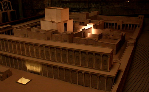 Model of Temple Mount, Western Wall Tunnels