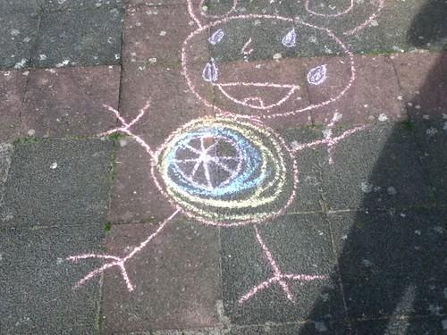 Chalk some animal