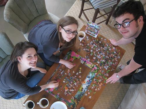 puzzle progress