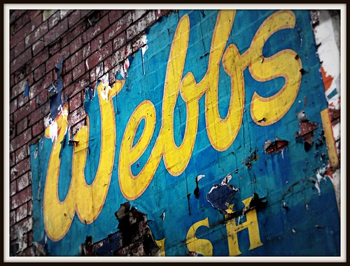Webbs Welsh Ales sign in Canton