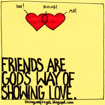 friends = love