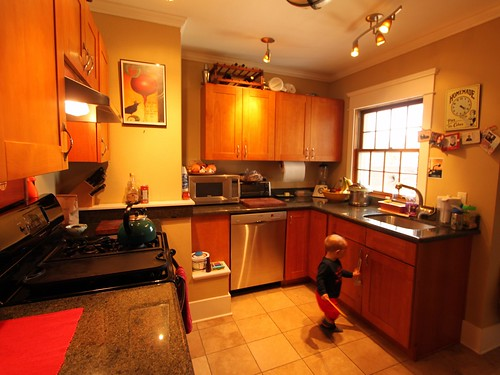 Yuppie kitchen, haaaay!