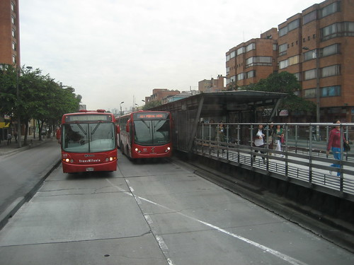Bogota Transmileno BRT