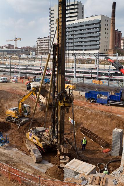 Zona nueva subestación eléctrica - Sur - 02-03-11