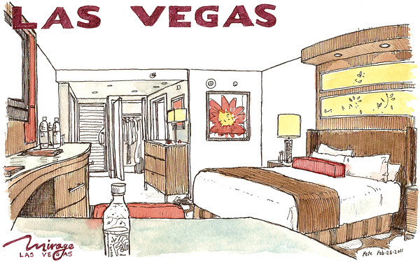 room at the mirage