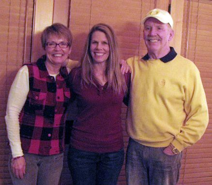 Dinner with Inlaws & Sue