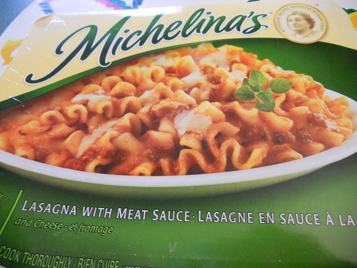Michelinas Lasagna with Meat Sauce