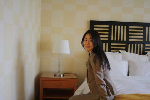 me in hotel room