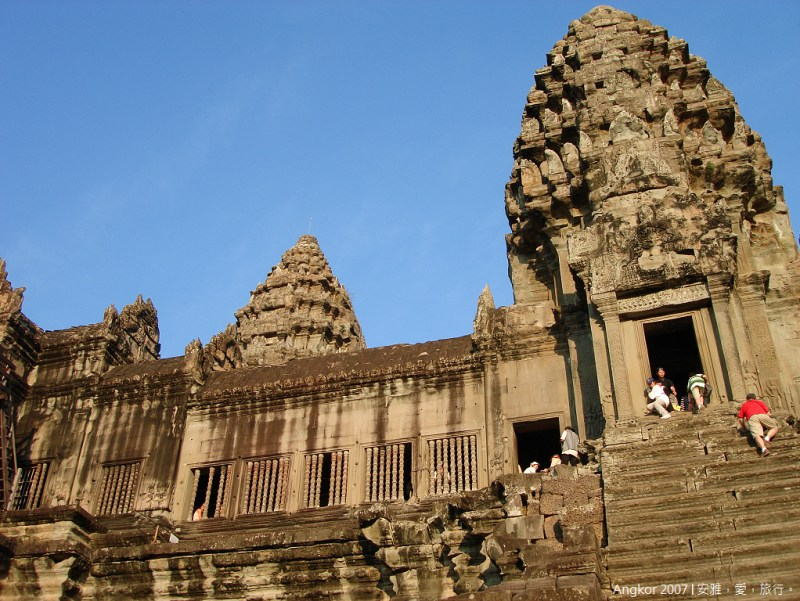 柬埔寨  吳哥窟 │ 小吳哥寺(Angkor Wat)的絕代風華(三)