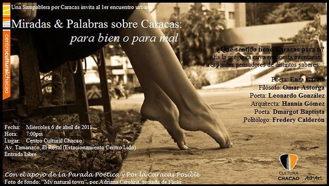 Miradas y palabras sobre Caracas 06/04