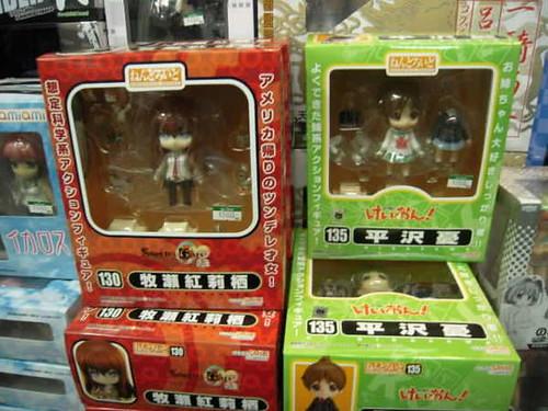 Nendoroid Makise Kurisu and Hirasawa Ui