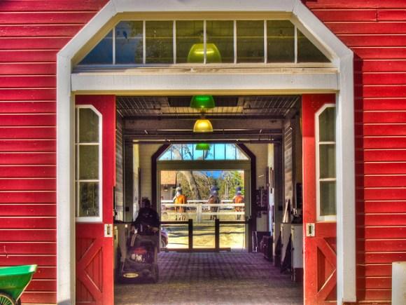 Stanford Red Barn - Stanford University by Scott Loftesness