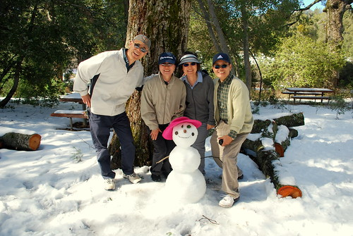 these people asked to pose with my snowman