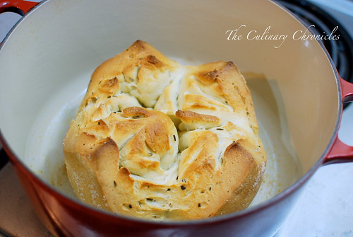 Pastor Ryan's Bloomin' Herb Bread