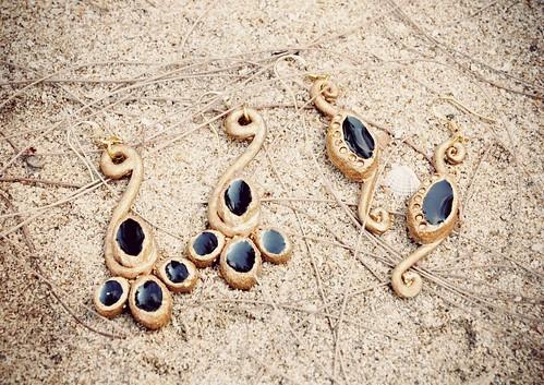 Amado Gudek - Occult Octopus earrings