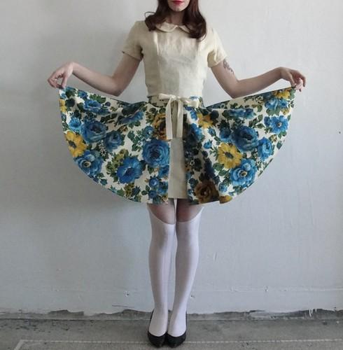 Etsy voguebyvague Fancy You Handmade Reversible Over Skirt $52
