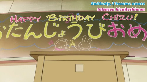 9. HAPPY BDAY CHIZU!