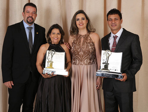 Marco Túlio Lamounier, Beatriz Duarte, Maria Angélica Ribeiro e Israel Batista