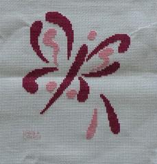 Brushstroke Butterfly4 by BarbH