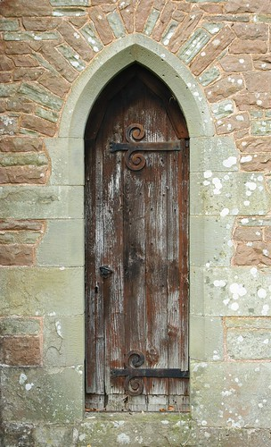 20110227-41_Side Door - All Saints Church - Newland Village by gary.hadden
