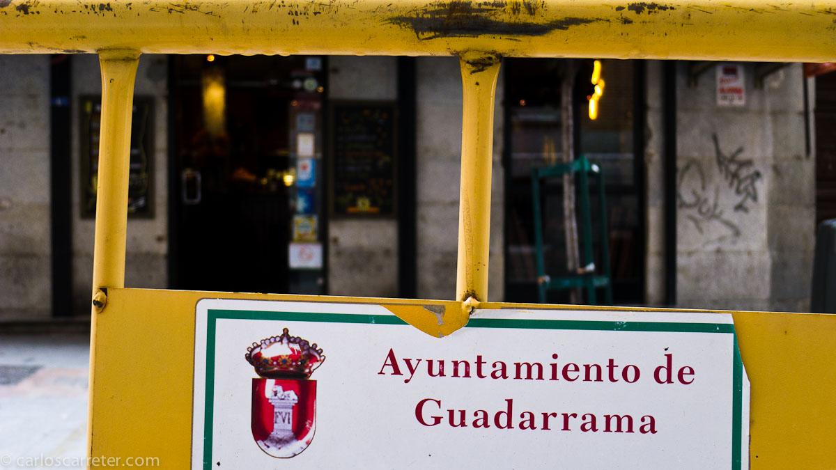La calle Huertas es del ¿ayuntamiento de Guadarrama?