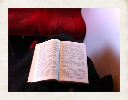 Reading Dickens on the Train