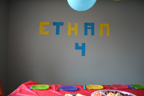 Ethan's 4th B-Day