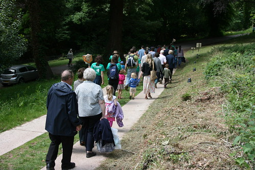 Off to do some pond dipping