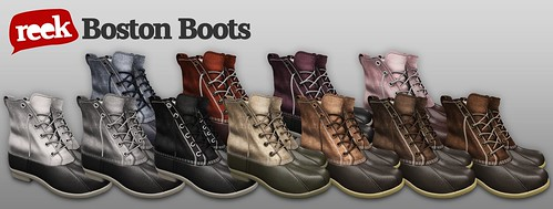 Reek - The Boston Boot Colors