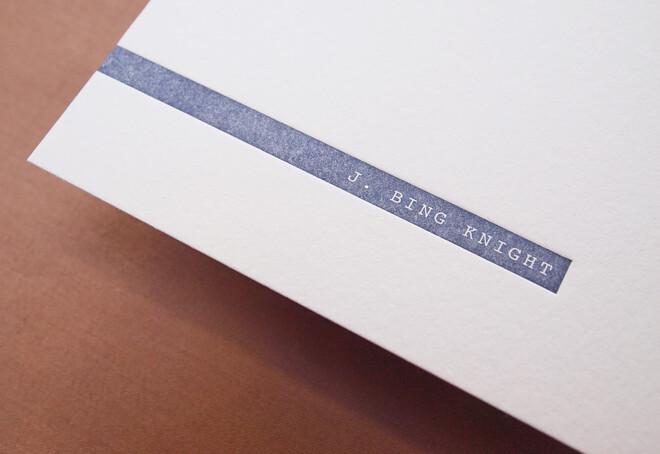 Bing Knight | Stationery 02