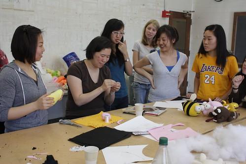 Plush Doll workshop