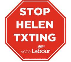 Labour - Stop Helen Txting