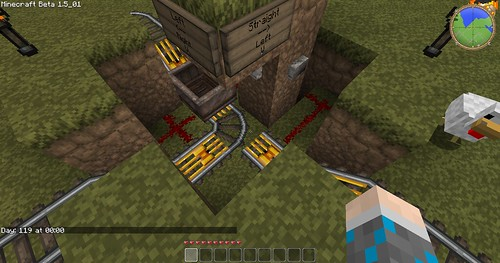 Minecraft - 3-Way Junction 1