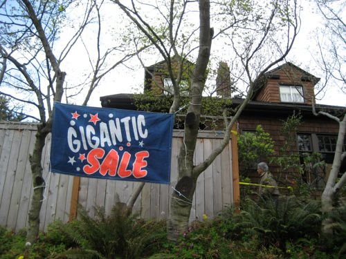 Gigantic sale