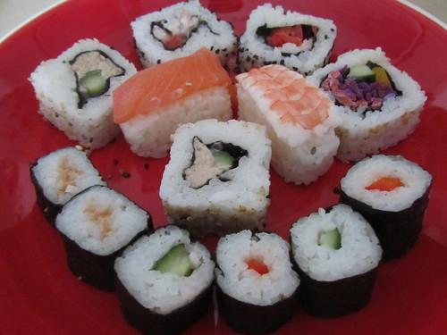 Tesco sushi