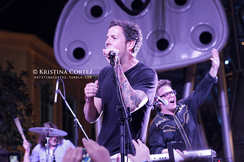 Pierre Bouvier of Simple Plan with These Kids Wear Crowns