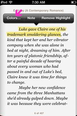 iBooks for iPhone: Change highlight color