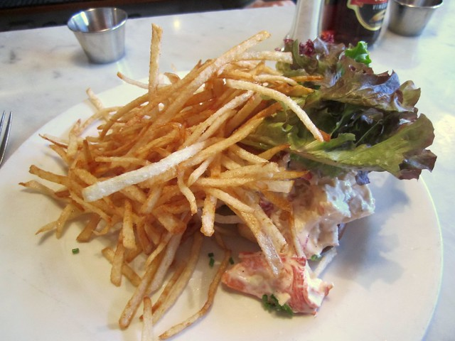 french fries at pearl oyster bar
