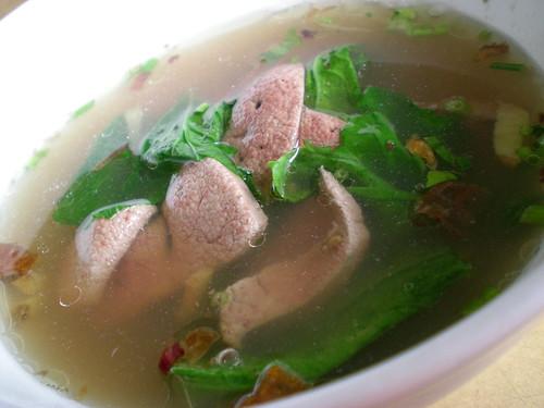 MeiLe liver soup