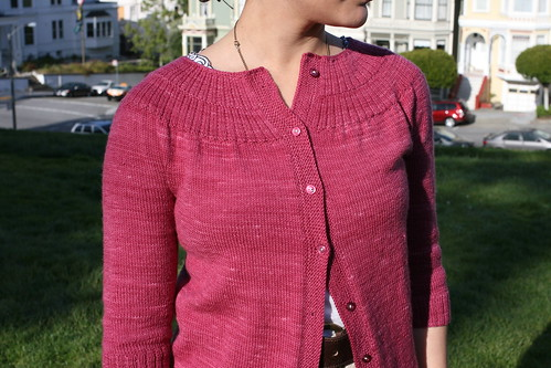 Leah's Lovely Cardigan