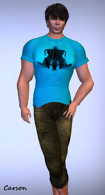 22769 - Rorschach Tee and Capri Pants  GG